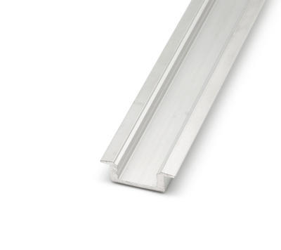 ALU profil zápustný 17,4x8 délka 2m krytka čirá - 5