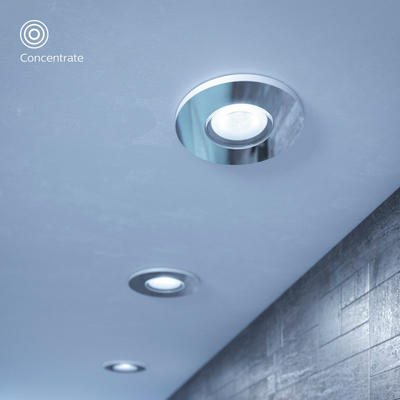 Adore hue recessed chrome 3x5W 230V - 5