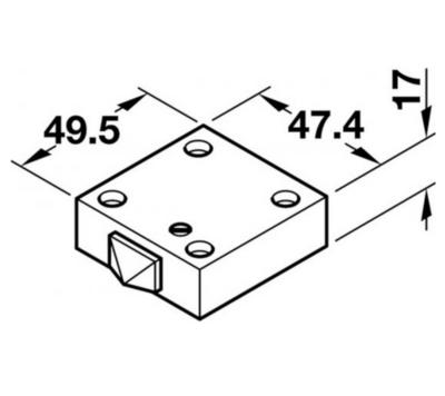 Dveřní spínač 230V mechanický černá barva - 5