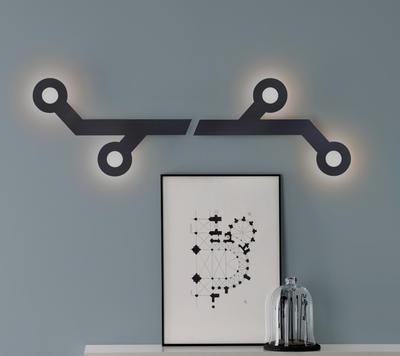 HOLES - nástěnná lampa - 5