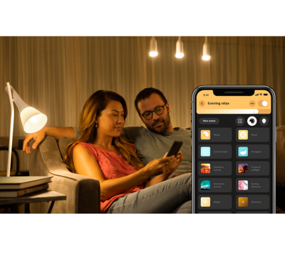Philips Hue 10W A19 E27 3 set EU + switch - 5