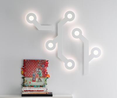 HOLES - nástěnná lampa - 6