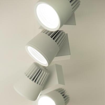LED2 SHOP LIGHT 45 30° BÍLÉ LIŠTOVÉ 4000K - 6