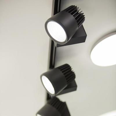 LED2 SHOP LIGHT 45 30° ČERNÉ LIŠTOVÉ 4000K - 6