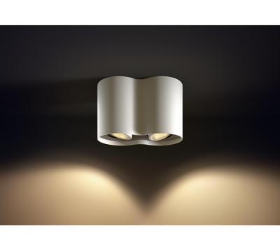Pillar Hue plate/spiral white 2x5.5W 5633231P7 - 6