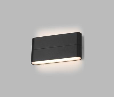 LED2 FLAT L, A NÁSTĚNNÉ ANTRACITOVÉ IP54 - 6